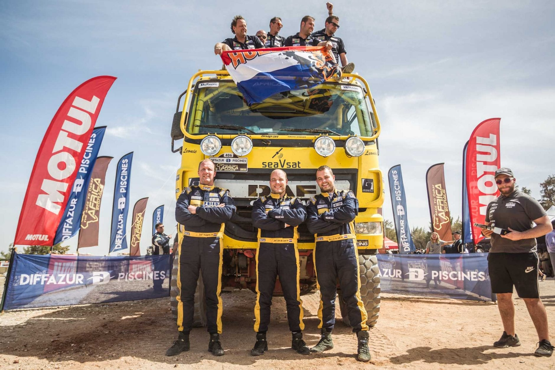 Fried van de Laar Racing - Africa Eco Race