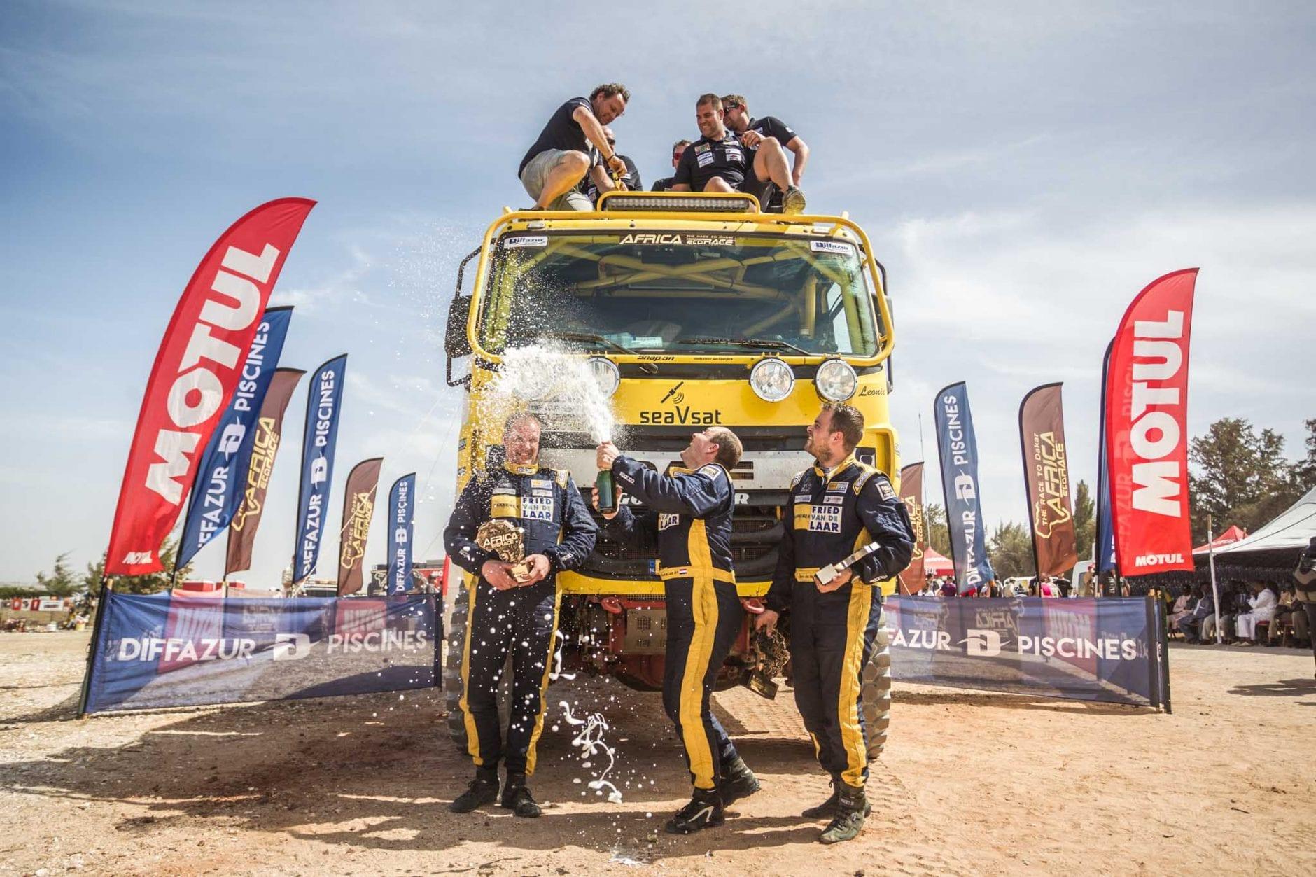 Fried van de Laar Racing - Africa Eco Race