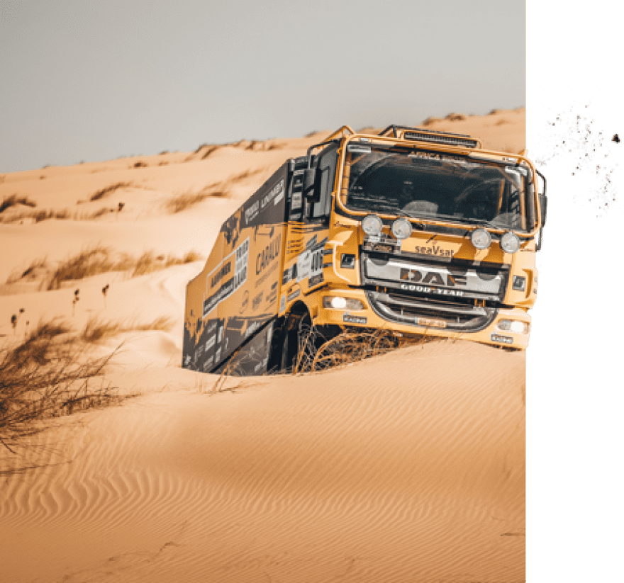 Fried van de Laar DAKAR2020